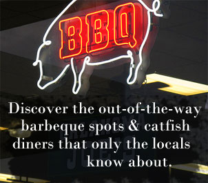 Motorcycle Tours of best BBQ & Catfish restaurants