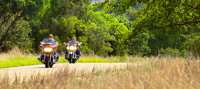 Oklahoma Motorcycle Tours Open Road